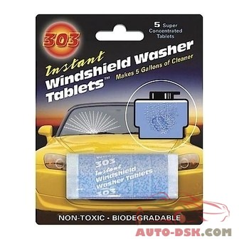 303 Products Windshield Washer Tablets Display - part #TOT230390