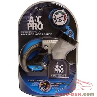 AC Pro Recharge Hose with Gauge - part #ACP-400