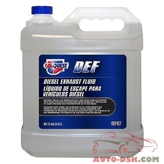 CARQUEST Grease and Lube Diesel Exhaust Fluid (2.5 Gallons) - part #DEF457