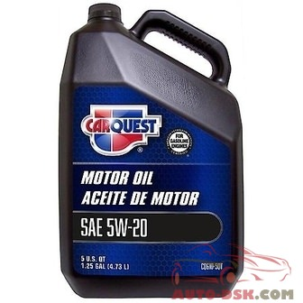 CARQUEST Oil & Fluids 5W-20 Conventional Motor Oil (5 Plus Quarts Jug) - CQ610-5QT
