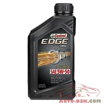 Castrol EDGE 5W-50 Full Synthetic Motor Oil (1 Quart) - 06250