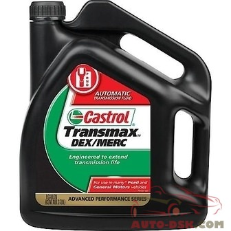 Castrol Transmax Dexron/Mercon Domestic Multi-vehicle (ATF) Automatic Transmission Fluid (1 Gallon) - part #03520C/03520