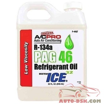 Interdynamics 32 oz. PAG 46 Low Viscosity Oil with ICE 32 - part #P-46QT