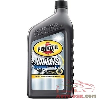 Pennzoil Platinum Synthetic Euro 0W40 (1 Quart) - 550036272