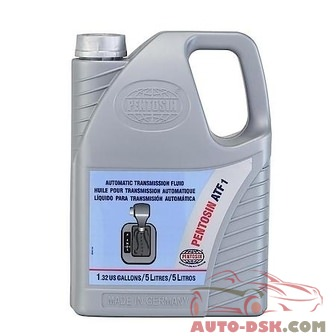 Pentosin ATF 1 Automatic Transmission Fluid (5 Liters) - part #1058206