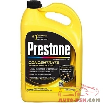 Prestone Extended Life All Makes All Models Antifreeze/Coolant, 1 Gal. - part #AF2000